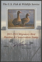 Scan of RW78B 2011 Duck Stamp