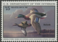 Scan of RW62 1995 Duck Stamp