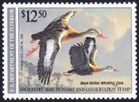 Scan of RW57 1990 Duck Stamp Grade 95