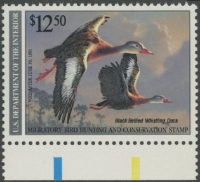 Scan of RW57 1990 Duck Stamp