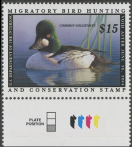 Scan of RW80 2013 Duck Stamp