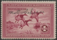 Scan of RW2 1935 Duck Stamp