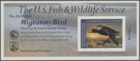 Scan of RW69A 2002 Duck Stamp