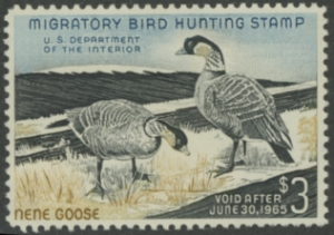 Scan of RW31 1964 Duck Stamp
