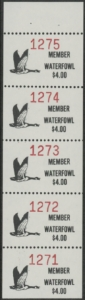 Scan of 1988 - 92 Pine Ridge Waterfowl Stamps