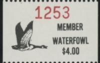 Scan of 1988 - 1992 Pine Ridge Waterfowl Stamp