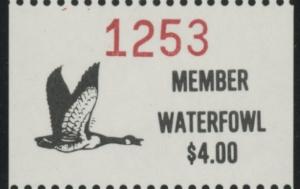 Scan of 1988 - 1992 Pine Ridge Waterfowl Stamp MNH VF