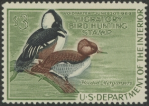 Scan of RW35 1968 Duck Stamp