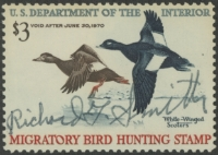 Scan of RW36 1969 Duck Stamp