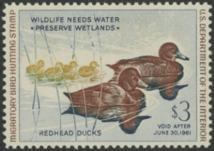 Scan of RW27 1960 Duck Stamp  MNH VF
