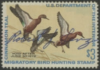 Scan of RW38 1971 Duck Stamp