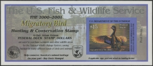 Scan of RW67A 2000 Duck Stamp  MNH VF