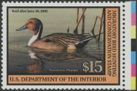 Scan of RW68 2001 Duck Stamp  MNH VF