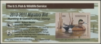 Scan of RW77A 2010 Duck Stamp