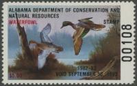 Scan of 1982 Alabama Duck Stamp MNH VF