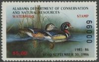 Scan of 1985 Alabama Duck Stamp MNH VF