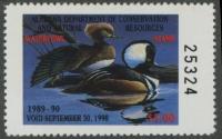 Scan of 1989 Alabama Duck Stamp MNH VF