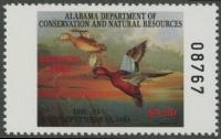 Scan of 1992 Alabama Duck Stamp MNH VF