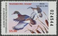 Scan of 2003 Alabama Duck Stamp MNH VF
