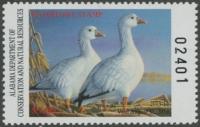 Scan of 2013 Alabama Duck Stamp MNH VF
