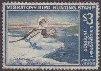 Scan of RW34 1967 Duck Stamp  Used VF
