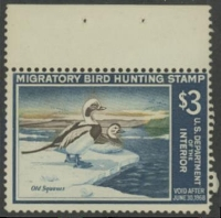Scan of RW34 1967 Duck Stamp  Unsigned Fine