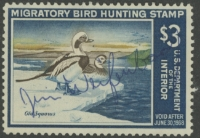 Scan of RW34 1967 Duck Stamp  Used F-VF